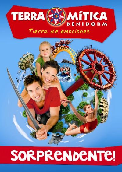 Pase de temporada 2012 en Terra Mitica